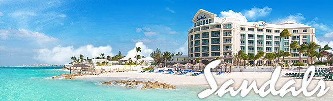 Sandals Resort Royale Bahamian has it's own offshore island!