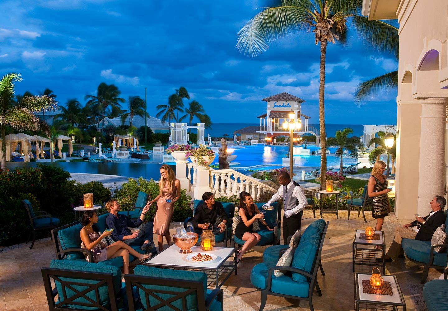 Sandals Emerald Bay Nightlife