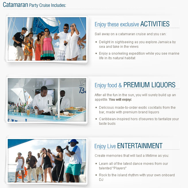 Free Catamaran Cruise at Sandals Montego Bay